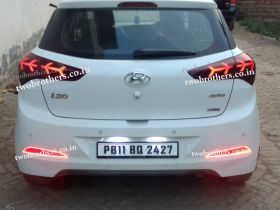 Elite I20 Lamborghini Matrix Style Led Tail Lights
